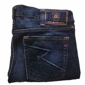Rock & Republic Rigid 36x34 Denim Jeans